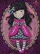 """Декорирай сама с пайети - Ladybird - Творчески комплект от серията """"Gorjuss"""" -"""