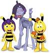 """Виолет, Уили и Спиндър - Комплект фигури от серията """"Пчеличката Мая"""" -"""