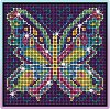Декорирай сама с камъчета - Пеперуда - Творчески комплект -