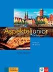 Aspekte junior fur Bulgarien - ниво B1: Учебник по немски език за 10. клас - учебна тетрадка