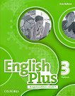 English Plus - ниво 3: Учебна тетрадка  по английски език за 7. клас + аудио материали : Bulgaria Edition - Kate Mellersh -