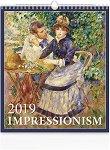 Стенен календар - Impressionism 2019 - календар