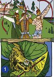 """Заедно: Комплект табла """"Иван царският син и принцесата жаба"""" за 4. подготвителна група -"""