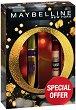 Подаръчен комплект - Maybelline Big Shot & Instant Anti-Age Eraser - Спирала за мигли и коректор за околоочен контур -