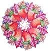 Fruity Cirle - Ръчно изработен дървен пъзел -