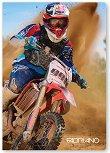 Ученическа тетрадка - Motocross : Формат А4 с малки квадратчета - 40 листа - тетрадка