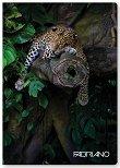 Ученическа тетрадка - Диви животни : Формат А4 с широки редове - 40 листа - тетрадка