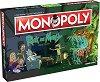 Монополи - Рик и Морти - Семейна бизнес игра на английски език -