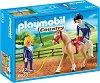 """Конна акробатика - Детски конструктор от серията """"Playmobil: Country"""" -"""