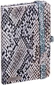 Lanybook: Луксозен джобен бележник с огледало и кристали Swarovski - Формат A6 -