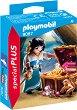 """Жена пират със съкровище - Фигура с аксесоари от серията """"Playmobil: Special Plus"""" -"""
