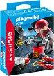 "Миньор с динамит - Детски конструктор от серията ""Playmobil: Special Plus"" -"