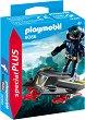"""Небесен рицар с джет - Детски конструктор от серията """"Playmobil: Special Plus"""" -"""