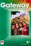 Gateway - Intermediate (B1): Учебник по английски език за 9. клас : Second Edition - David Spencer -