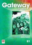 Gateway - Intermediate (B1): Учебна тетрадка по английски език за 9. клас Second Edition -