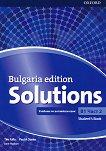 Solutions - ниво B1: Учебник по английски език за 9. клас - част 2 : Bulgaria Edition - Tim Falla, Paul A. Davies, Jane Hudson -
