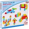 Детски конструктор - Smart Blocks - Комплект от 100 части -