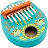 Калимба - Детски дървен музикален инструмент -