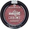 Essence Melted Chrome Eyeshadow - Сенки за очи с ефект металик -