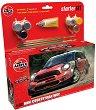 Състезателен автомобил - MINI Countryman WRC - Сглобяем модел - комплект с лепило и боички -