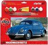 Автомобил - VW Beetle - Сглобяем модел - комплект с лепило и боички -