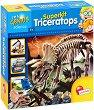 """Разкопки - Скелет на Трицератопс - Образователен комплект от серията """"I am a Genius"""" -"""