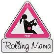 """Табела с надпис - Rolling Mama - Аксесоар за автомобил от серия """"MommyLine"""" -"""