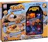 Писта със строителни машини - Детски играчки -