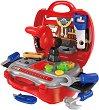 Работилница - Детски комплект с аксесоари в куфарче -