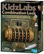 """Направи сам - Секретна заключалка - Детски образователен комплект от серията """"Kidz Labs"""" -"""