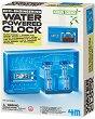 """Часовник с воден механизъм - Детски образователен комплект """"Green Science"""" -"""