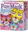 Оцвети сама - Светещи маски - Творчески комплект -