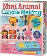 """Направи сам свещички за рожден ден - Животни - Творчески комплект от серията """"Girl Craft"""" -"""