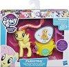 """Срамежливка с колесница - Комплект за игра с аксесоари от серията """"My Little Pony"""" -"""
