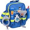 Полицейски  принадлежности в раничка -