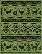 Папка за ембосинг - Holiday Knit - За машина за изрязване и релеф -