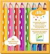 Цветни моливи - Комплект от 8 цвята