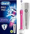 Oral-B Pro 750 3D White - Електрическа четка за зъби -