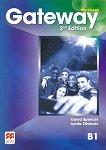 Gateway - Intermediate (B1): Учебна тетрадка по английски език Second Edition -