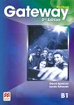 Gateway - Intermediate (B1): Учебна тетрадка по английски език : Second Edition - David Spencer, Lynda Edwards - помагало