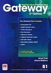 Gateway - Intermediate (B1): Книга за учителя по английски език + онлайн ресурси Second Edition -