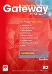 Gateway - Upper-Intermediate (B2): Книга за учителя по английски език + онлайн ресурси Second Edition -