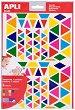 Самозалепващи стикери - Триъгълници - Комплект от 720 броя -