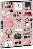 Ученическа тетрадка - Beauty : Формат А4 с широки редове - 40 листа -
