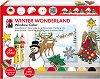 """Трансферни бои за стъкло - Winter Wonderland - Комплект от 6 цвята x 25 ml от серията """"Fun&fancy"""" -"""