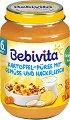 Bebivita - Пюре от картофи със зеленчуци и мляно месо - Бурканче от 190 g за бебета над 6 месеца -