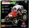 """Трактор - Massey Ferguson 7600 - Метален конструктор от серията """"Tronico: Micro-Series"""" -"""