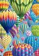 """Цветни балони в небето - От колекцията """"Premium Quality"""" -"""