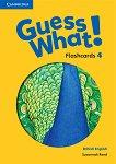 Guess What! - ниво 4: Флашкарти по английски език - Susannah Reed - продукт