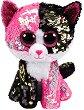 """Коте - Malibu - Плюшена играчка с пайети от серията """"Flippables"""" -"""